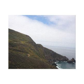 California Coast 1 Gallery Wrapped Canvas