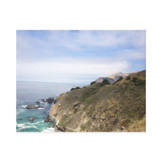 California Coast 2 Stretched Canvas Print