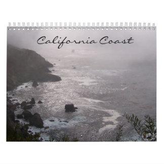 California Coast Any Year Calendar