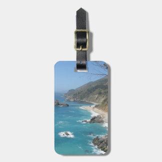 California Coast- Big Sur Tag For Luggage