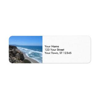 California Coast Label