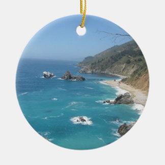 California Coast Christmas Tree Ornaments