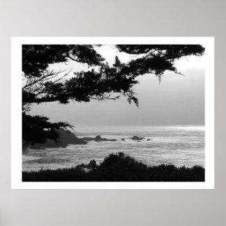 California Coast Poster