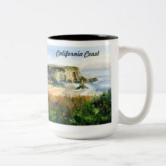 California Coast Two-Tone Coffee Mug