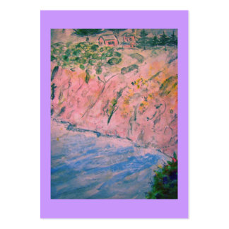 california coastal bluffs large business cards (Pack of 100)