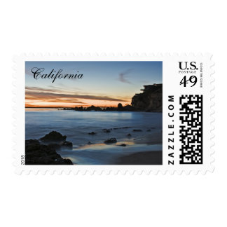 California Coastal View Stamp