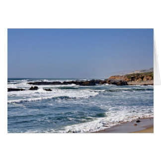 California Coastline - Card