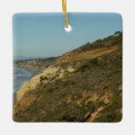 California Coastline Scenic Travel Landscape Ceramic Ornament