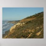 California Coastline Scenic Travel Landscape Poster