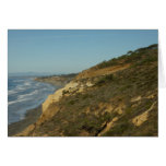California Coastline Scenic Travel Photography Card