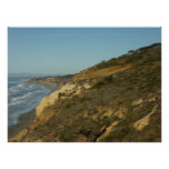 California Coastline Scenic Travel Photography Poster