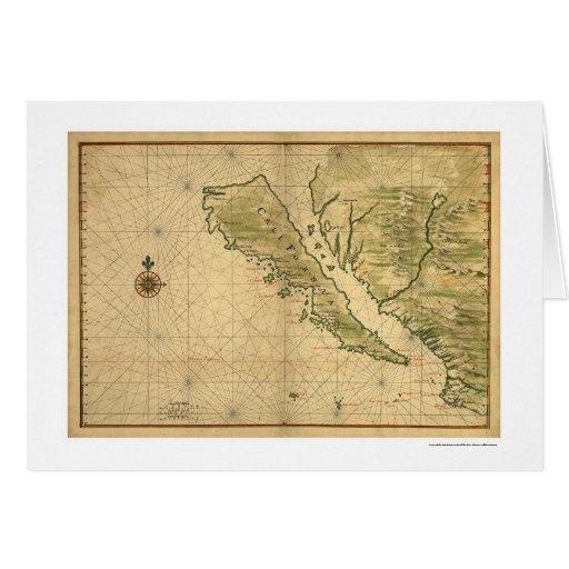 California como isla 1650 tarjeton