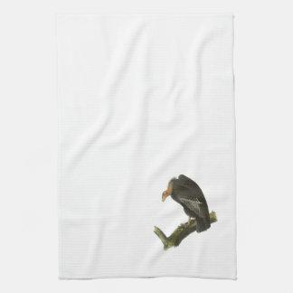 California Condor by Audubon Hand Towel