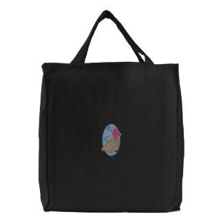 California Condor Embroidered Tote Bag