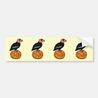 California Condor Halloween Bumper Sticker