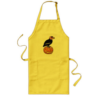 California Condor Halloween Long Apron
