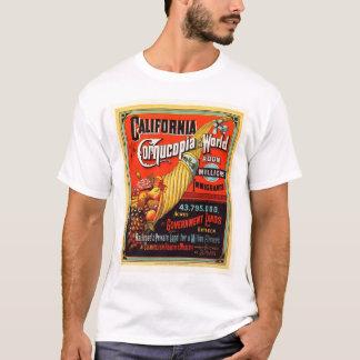California - cornucopia del mundo playera