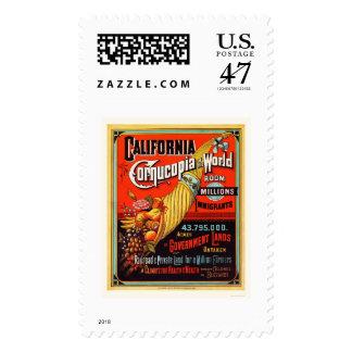 California - Cornucopia of the World Postage