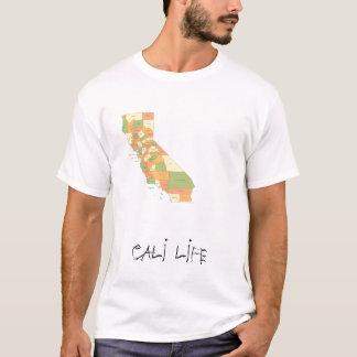 california-county-map, CALI LIFE T-Shirt
