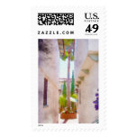 California Courtyard Postage Stamps