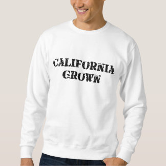California crecida sudadera