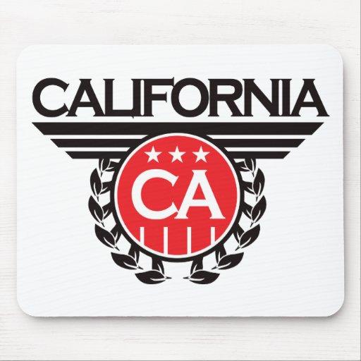 California Crest Design Mouse Pad