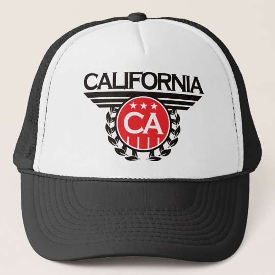 California Crest Design Trucker Hat