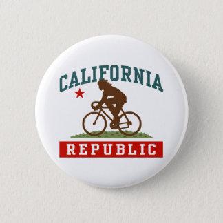 California Cycling Female Button