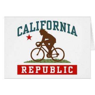California Cycling Female Card