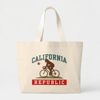 California Cycling Female Large Tote Bag