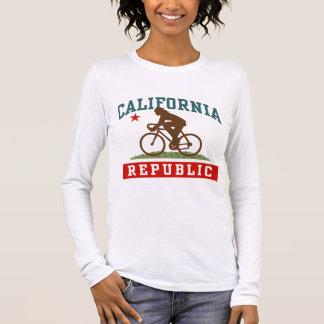 California Cycling Female Long Sleeve T-Shirt