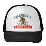 California Cycling Male Hats