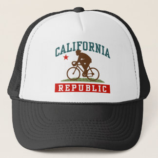 California Cycling Male Trucker Hat
