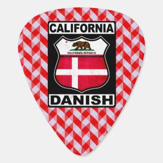 California Danish American Guitar Pick