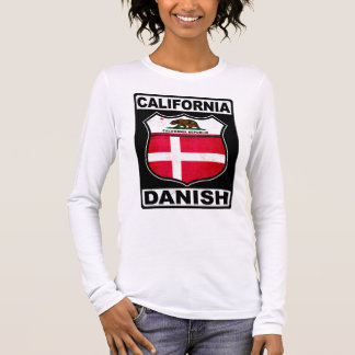 California Danish American Long Sleeve T-Shirt