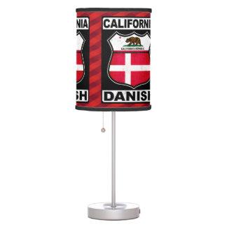 California Danish American Table Lamp
