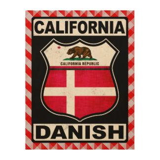 California Danish American Wood Wall Decor