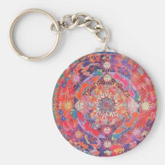 California Daz e Mandala Keychain