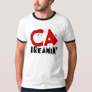 California de los hombres que soña la camiseta del