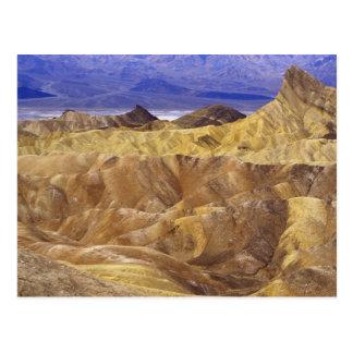 California: Death Valley NP, view from Zabriskie Postcard