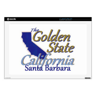"""CALIFORNIA DECAL FOR 17"""" LAPTOP"""