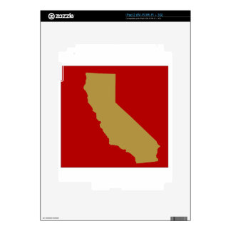 CALIFORNIA DECALS FOR THE iPad 2