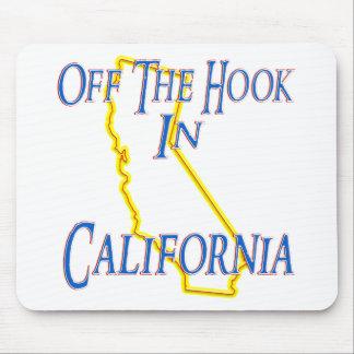 California - del gancho alfombrillas de ratón