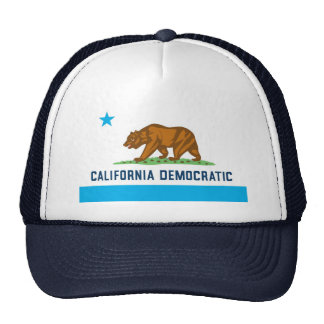 California Democratic Trucker Hat