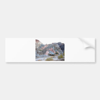 California Desert, Painted Canyon Bumper Sticker