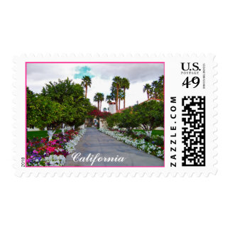 California Desert Resort Postage