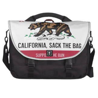 California despide el bolso bolsas para portátil