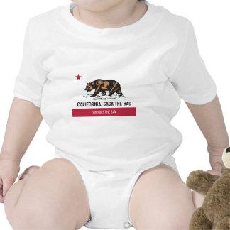 California despide el bolso camiseta