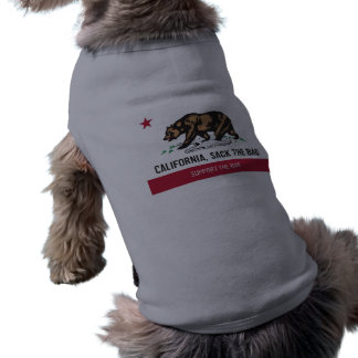 California, despide el bolso camisetas de mascota