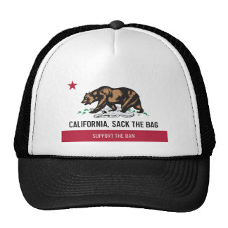 California despide el bolso gorras de camionero